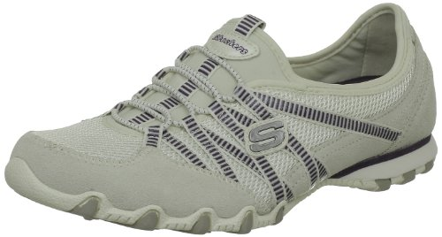 Skechers Women's Active-Bikers-Hot-Ticket White Ballet 21159 8 UK