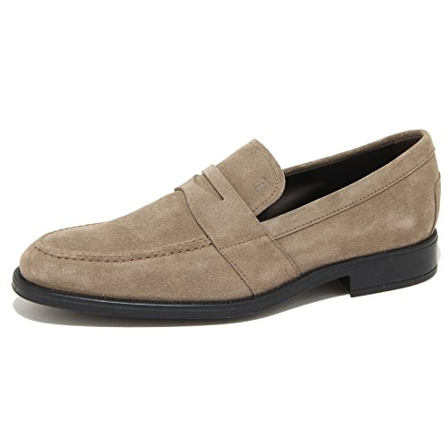 9119N mocassino uomo TOD'S tortora suede shoes men brown [8]