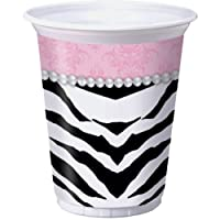 16-ounce Sassy and Sweet Bachelorette Plastic Cups - 8 Pack - Bachelorette Plastic Cups