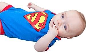 Super Baby - Body de manga larga para bebé