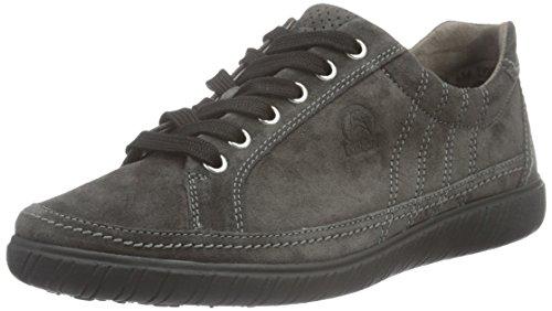 Gabor Shoes Comfort Basic, Scarpe Stringate Donna, Grigio (Dark-Grey 39), EU
