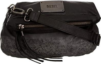 diesel pyrite warrior bag sac main femme noir v 6 taille unique chaussures et. Black Bedroom Furniture Sets. Home Design Ideas