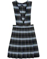 French Toast School Uniforms V-Neck Pleated Plaid Jumper Girls