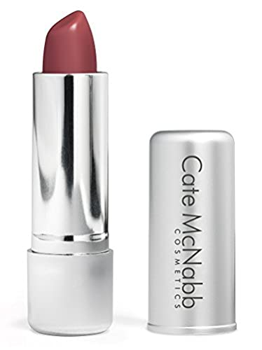 Cate McNabb Cosmetics Natural Long Lasting Lipstick, Guava, 0.16 Oz