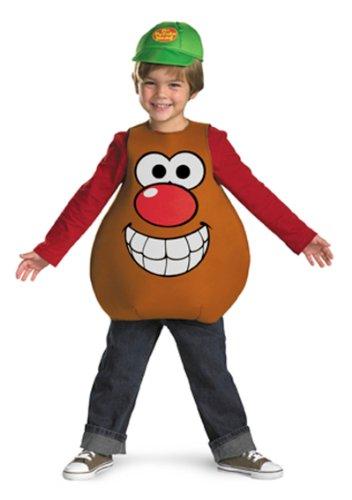 Mr Potato Head Classic Child Costume, Toddler (3T-4T) front-523649