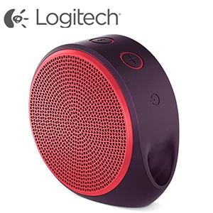Logitech X100 Mobile Wireless Speaker (Red)