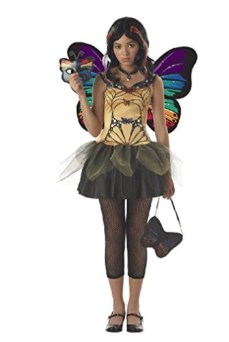 [Fancy Strangeling Butterfly Masquerade Fairy Tween Costume] (Strangeling Devil Costume)