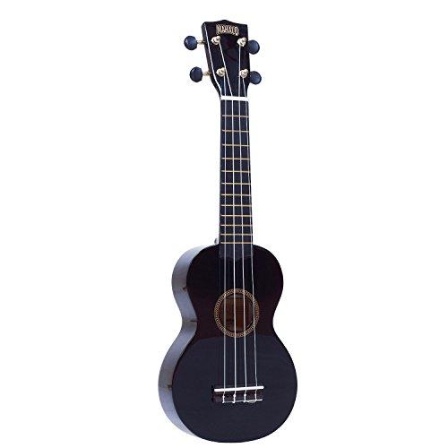 Mahalo MR1BK Soprano Ukulele - Black