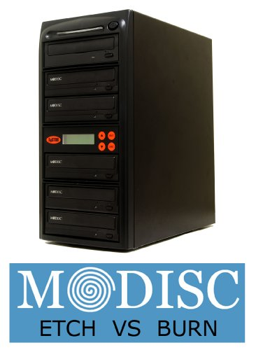 Systor 1-5 M-Disc Support CD DVD Duplication Burner Multiple Duplicator 22X SATA Tower with USB Connection