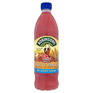 Robinsons Fruit & Barley, Summer Fruits with No Added Sugar (1L)