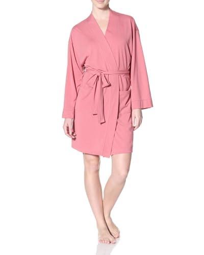 Aegean Apparel Women's Polyviscose Jersey Kimono Robe