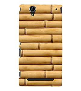 EPICCASE bamboo Mobile Back Case Cover For Sony Xperia T2 (Designer Case)