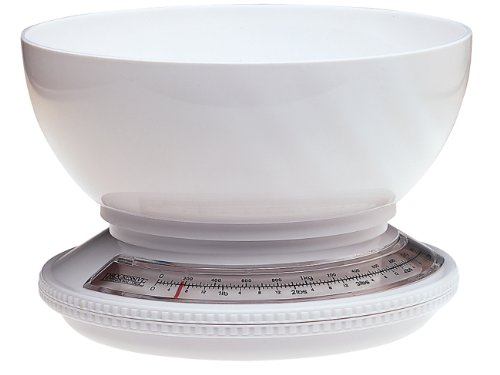 Prepworks from Progressive International KT-1205 5 Pound Kitchen Scale with Removable Bowl