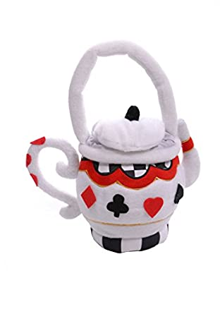 Teapot Purse (White;One Size)