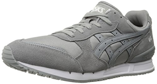 ASICS GEL-Classic Retro Running Shoe, Medium Grey/Medium Grey, 10.5 M US