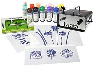 Iwata Cake Decorating Airbrush Kit : Neo for Iwata Cake Decorating Kit with Ninja jet ...