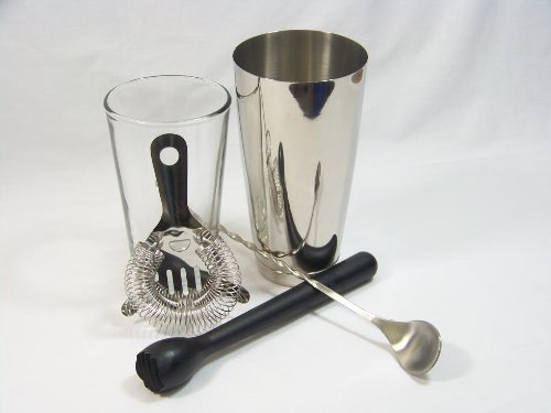 Starter Boston Cocktail Shaker Set by bar@drinkstuff