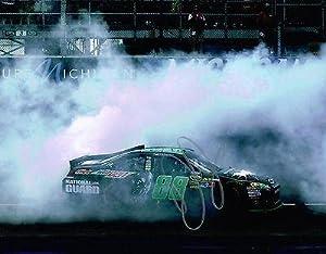 Autographed Dale Earnhardt Jr. Photograph - 11X14 BURNOUT COA - Autographed NASCAR... by Sports Memorabilia
