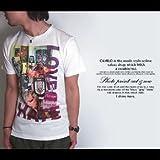 雑誌Smart/スマート掲載【Arti Nero/アルティネロ】カラフルデザインフォトプリントTシャツ