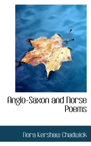 Anglo-Saxon and Norse Poems