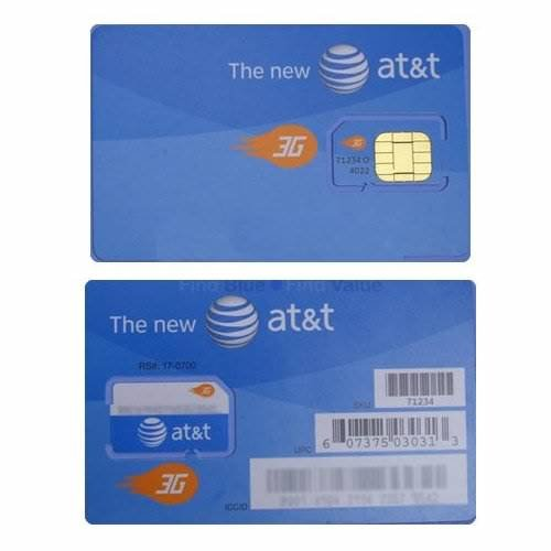 AT&T Sim Card Brand New Unactivated