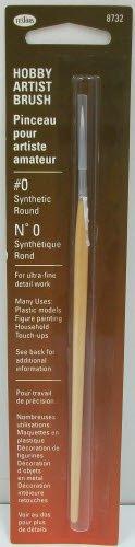 Brush,#0 Round by Testor Corp.