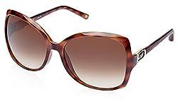 Escada Cateye Sunglasses (Demi Brown) (SES 271|0748|59)