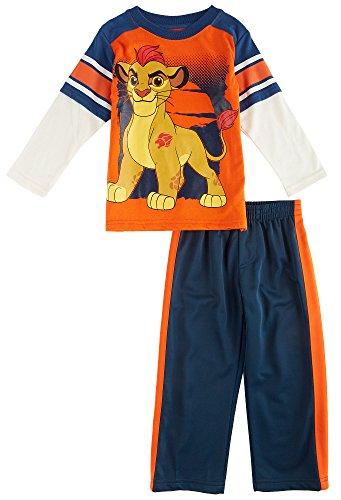 [Disney Toddler Boys' Kion Lion Guard 2-Piece Set, Orange, 3T] (Disney Nala Costume)