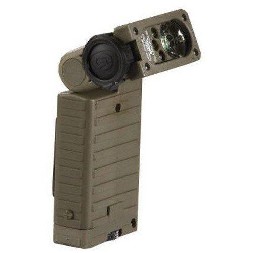 Streamlight 14027 Sidewinder Hp Flashlight With Alkaline Batteries, Helmet Mount And White/Green/Blue/Ir Led, Green
