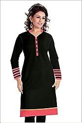 Cozer Creation Black Red Salwar Suit Dress Material