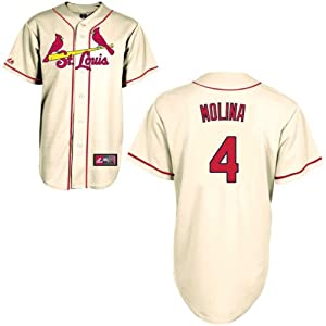 Majestic Athletic St. Louis Cardinals Yadier Molina Replica Alternate Jersey by Majestic