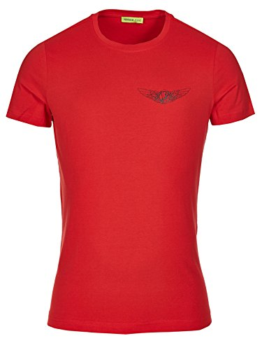 Versace Jeans Couture T-Shirt (M-03-Ts-34119) - 44(DE) / 44(IT) / 44(EU) - rot