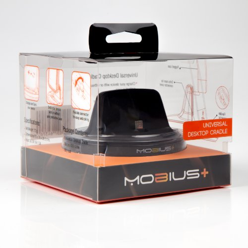 Mobius+ Sync & Charge Cradle - Dock For Samsung Galaxy S2, S3, S3 Mini, S4, S5 And Android Devices