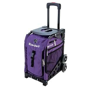 Amazon.com : Riedell Roller Skate Bag - Purple Zuca Wheeled Derby