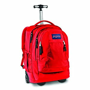 Driver 8 Wheeled Backpack High Risk Red