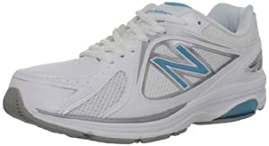 New Balance Women's WW847 Health Walking Shoe,White,6.5 2E US