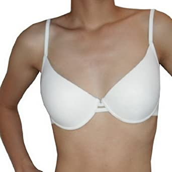 Sweet Perfectly Fit Seamless Underwire White Bra (Size: 16C)