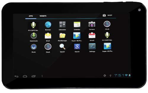 Naxa Electronics Core Pc Nid-7007 7-Inch 8Gb Tablet