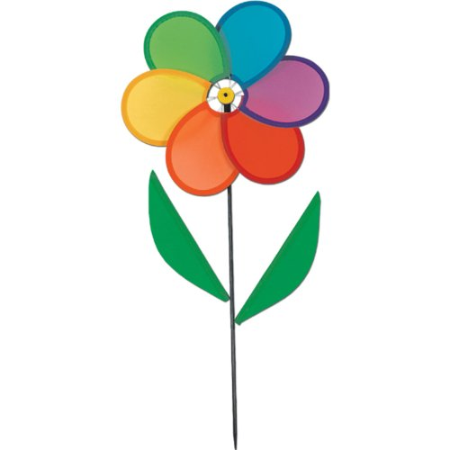 Power-Flower Wind-Wheel Party Accessory (1 count) (1/Pkg)
