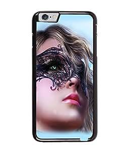 Fuson Pattern Girl Back Case Cover for APPLE IPHONE 6 - D3665