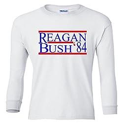 Reagan Bush 84 Youth Long Sleeve T-Shirt