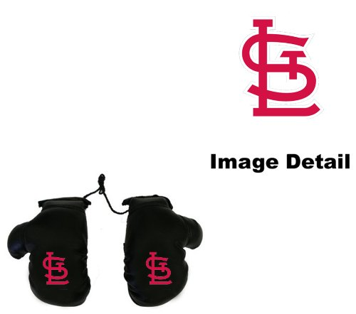 St. Louis Cardinals Car Truck SUV Rearview Mirror Mini Small Boxing Gloves