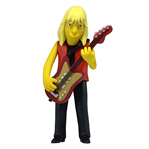 "NECA Simpsons 25th Anniversary Series 4 Tom Hamilton 5"" (Aerosmith) Celebrity Action Figure"