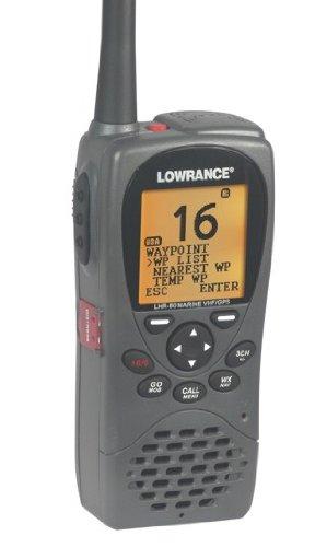 Lowrance LHR-80 VHF/GPS Handheld Marine Radio