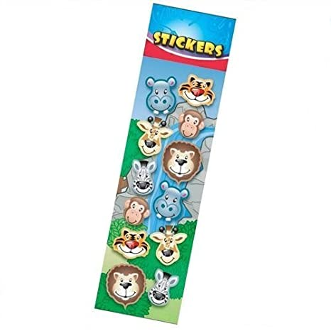 Wild Animal Stickers - Party Bag Fillers by Party Bags 2 Go (English Manual)
