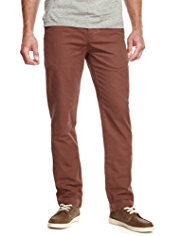 North Coast Pure Cotton Herringbone Chinos