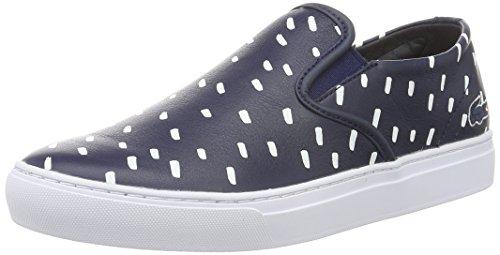 Lacoste L!VE - Rene Alliot Slip, Sneakers da uomo, blu (nvy/wht), 44.5