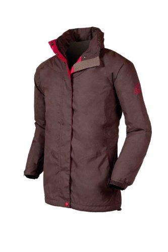 Target Dry Ladies' Nantes Waterproof Jacket (10, Cocoa)