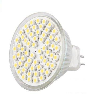 4X MR16/GU 5.3 60 SMD LED Lampe