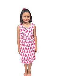 Needlecrest Baby Girls Frock (Pink Color)